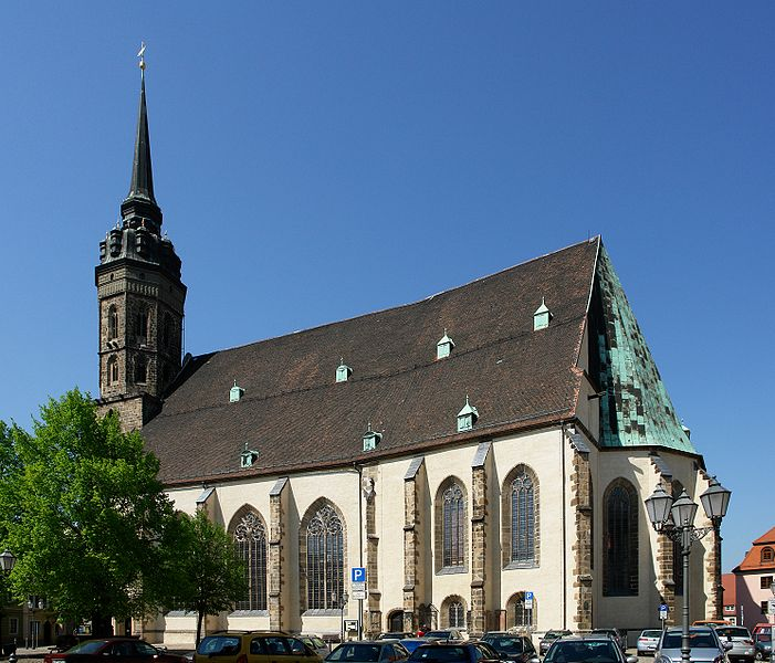 Exterior of St. Peter's Church in Bautzen