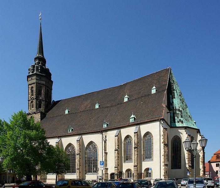 Exterior of St. Peter's Church in Bautzen