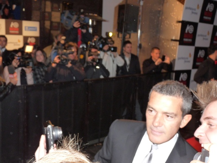 Antonio Banderas on red carpet