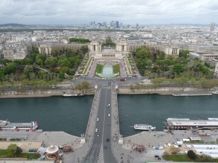 View North from the Eiffel Tower
